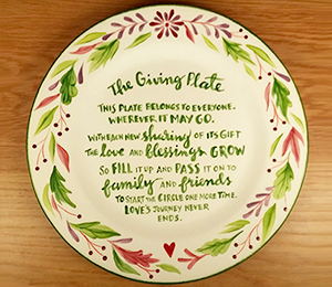 Denville The Giving Plate