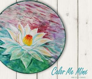 Denville Lotus Flower Plate