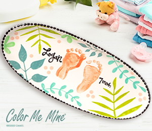 Denville Tropical Baby Tray