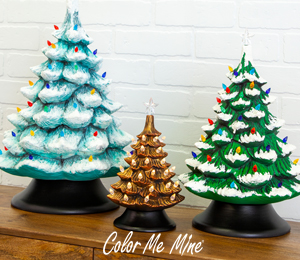 Denville Vintage Christmas Trees