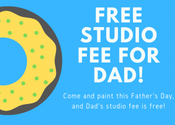 free studio fee for dad for father's day